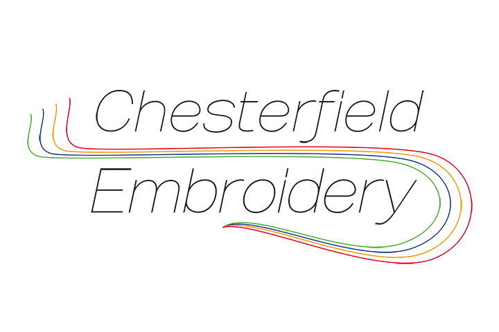 Chesterfield embroidery logo