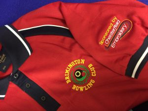 brimmington bowls club embroidery