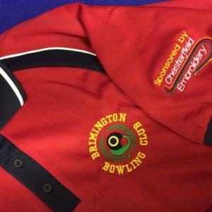Brimmington Bowls Club Embroidery