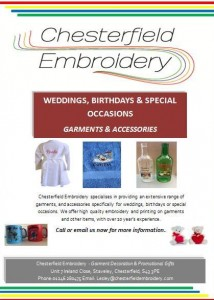 Weddings, birthdays & special occasion garment & accessories