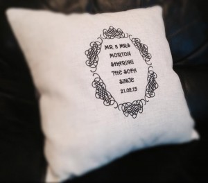 personalise your pillow