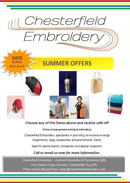 Check Out Our Summer Offers