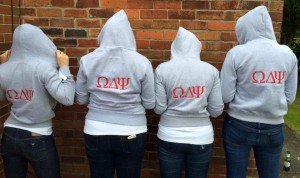 personalised group shot hoodies