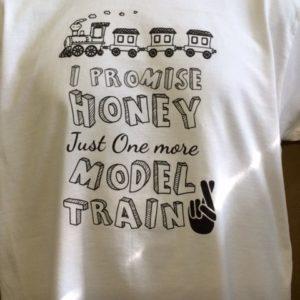 Detailed Train T-shirt