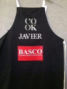 printed apron