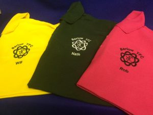 embroidered polos different colours